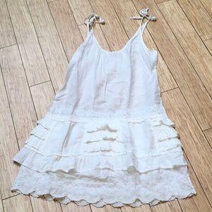 Calypso St Barth ruffled mini dress